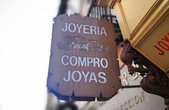 Compraventa de joyas en Madrid