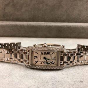 Reloj-Cartier-Tank-Américaine-Weissgold-side
