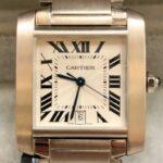 Reloj-Cartier-Tank-Francaise-18Kts