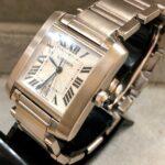 Reloj-Cartier-Tank-Francaise-18Kts-SIDE